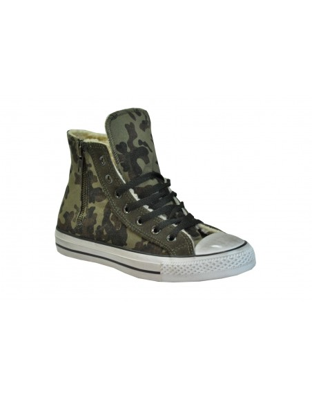 converse hi side zip canvas
