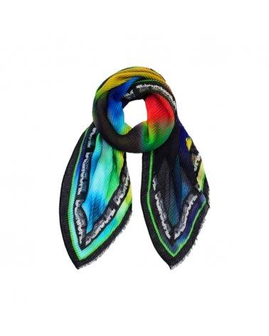 Sneakers alta Donna pizzo nero CONVERSE chuck taylor high 549308C BLACK